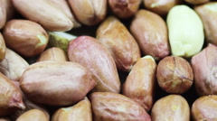 Peanuts in the Peel Rotates Stock Footage