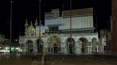 Night View of Italy - stock footage