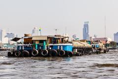 Giant barge Stock Photos
