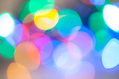Abstract colorful glare Stock Photos