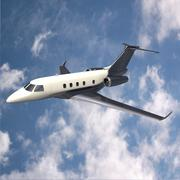 Embraer legacy 450 private jet 3D Model