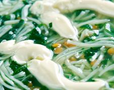 Stock Photo of Persian Noodle Soup