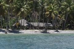 Green Getaway Exotic Paradise, Samana, Dominica Stock Photos