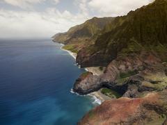 Aerial View of Na Pali Coast on Kauai island , Hawaii Kuvituskuvat