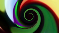 Colored Cartoony Vortex Background Stock Footage