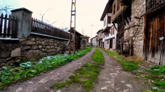 An Old Ottaman Migrant folk(Yoruk) village in Karabuk. - stock footage