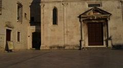 St. Mary Church, Zadar, Dalmatian region, Croatia Stock Footage