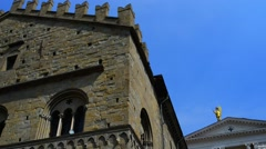 Cappella Colleoni in Bergamo, northern Italy Stock Footage