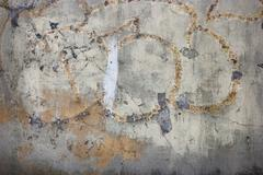 Pastel grungy wall with scratches. Great textures for your design Stock Photos