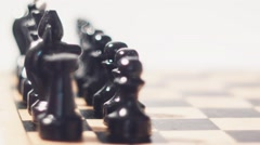 Chess Knight Radial Dolly - stock footage