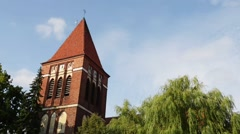 City Hall, Paslek - Town Hall in Paslek, Poland Stock Footage