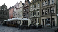 Poznan Old Town, Poland - stock footage