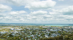 Eden Park Neighbourhood in Auckland New Zealand Stock Footage