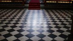 Cappella Colleoni in Bergamo, northern Italy Stock Footage