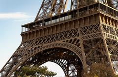 Stock Photo of Base of the eiffel tower
