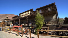 Old western town - Calico, California Stock Footage