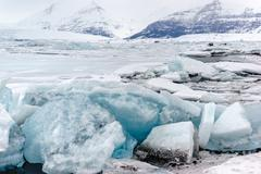 Jokulsarlon Glacial Lagoon - stock photo