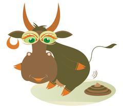 Organic manure - stock illustration