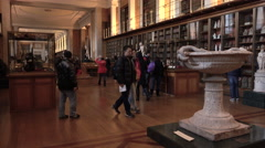 British Museum London England historic educational displays 4K Stock Footage
