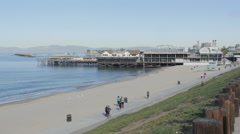 Redondo Beach Pier Stock Footage