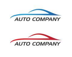 Auto car Logo Template - stock illustration