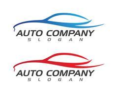 Auto car Logo Template Stock Illustration