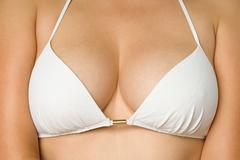 Woman's cleavage Stock Photos