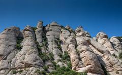 Santa Maria de Montserrat Abbey - stock photo