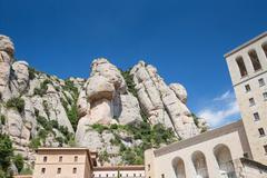 Stock Photo of Santa Maria de Montserrat Abbey