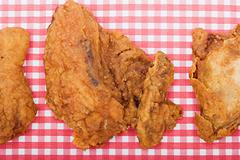 Deep fried chicken Stock Photos