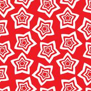 Seamless wallpaper. repetitive print with stars Stock Illustration