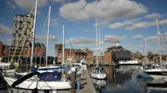 Ipswich dock Stock Footage