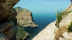 Majorca, Cap Formentor Mirador Stock Footage