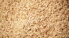 production of wood chips video - stock footage