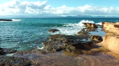 Majorca, sandstone coast Stock Footage