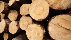 Timber construction timber board wooden Stock Footage