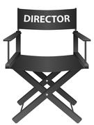 Producer chair Stock Illustration