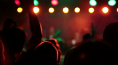 Musical Performance at the Club DJ Stock Footage