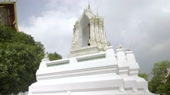 Temple Of Reclining Buddha (Wat Pho) in Bangkok - Prayer Bell - stock footage