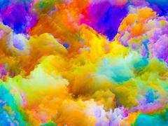 Diversity of Colors - stock illustration