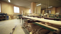 Workshop, carpenter nobody industry tools Stock Footage