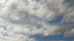 Sky Clouds Time Lapse 1 Stock Footage