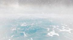 Over Antarctica 2 - stock footage