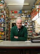Hardware store owner Stock Photos