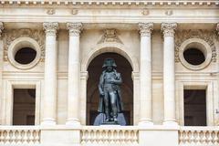 Statue of Napoleon Bonaparte, Les Invalides, Paris, France - stock photo