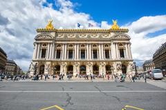 The Opera Garnier of Paris, France - stock photo