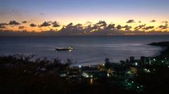 St Maarten - ships 6 Stock Footage