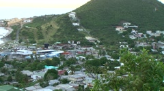 St Maarten - city 2 - stock footage
