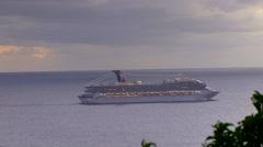 St Maarten - ships 4 Stock Footage