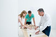 Architects working Stock Photos